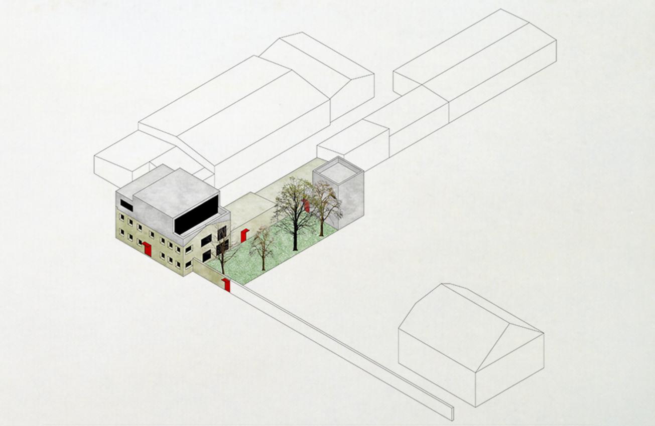 KO-OK_Architektur_Leipzig_Stuttgart_Stasi_Umbau_Aufstockung_Wohnen_Isometrie